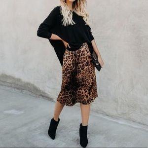 Vici Dolls Leopard Skirt